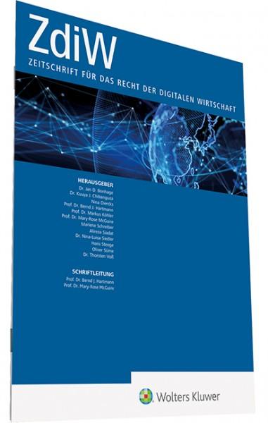 ZdiW - Zeitschrift für das Recht der digitalen Wirtschaft - Heft 8|2021
