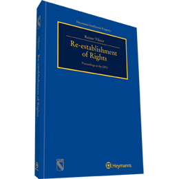 Re-establishment of Rights Proceedings at the EPO