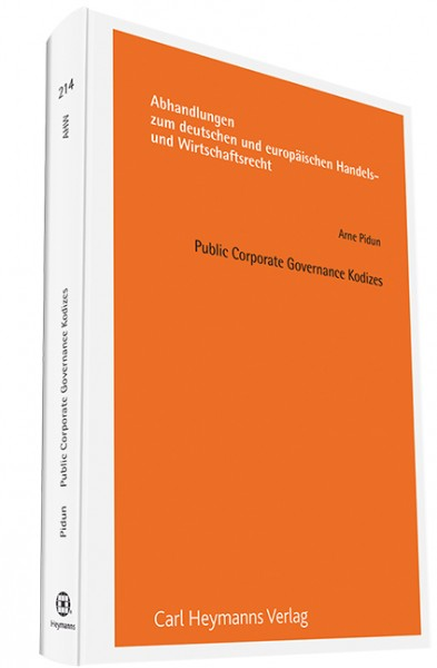 Public Corporate Governance Kodizes (AHW 215)