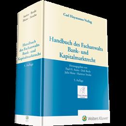 Handbuch des Fachanwalts Bank- und Kapitalmarktrecht