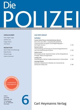 Die Polizei - Heft 6|2019