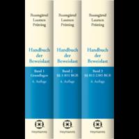 Handbuch der Beweislast (Bände 1-3)