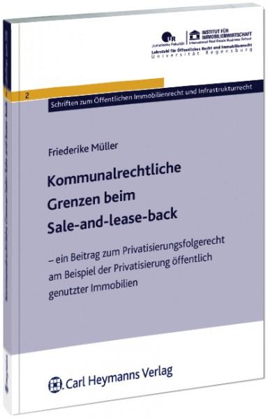 Kommunalrechtliche Grenzen beim Sale-and lease-back