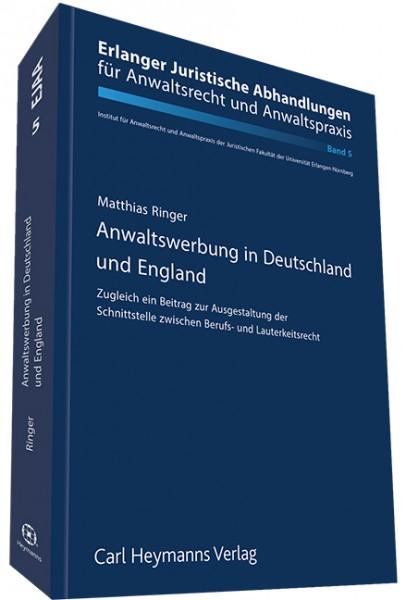 Anwaltswerbung in Deutschland und England