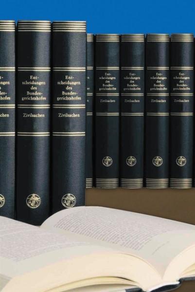 Entscheidungen des Bundesgerichtshofs in Zivilsachen - BGHZ