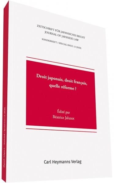 Zeitschrift für Japanisches Recht / Journal of Japanese Law - Sonderheft 13
