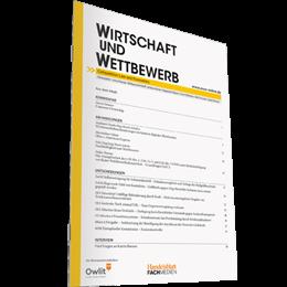 WIRTSCHAFT und WETTBEWERB