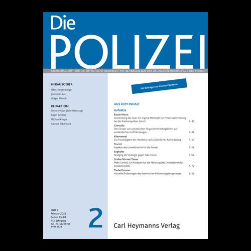 Die Polizei - Heft 2|2021