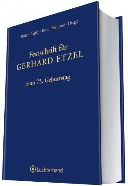 Festschrift für Gerhard Etzel