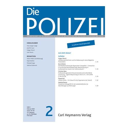 Die Polizei - Heft 2|2020