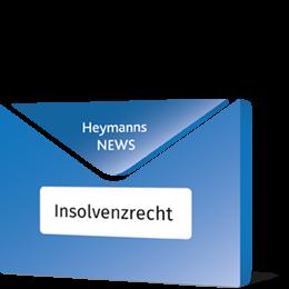 News Insolvenzrecht