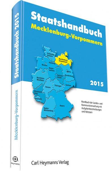 Staatshandbuch Mecklenburg-Vorpommern 2015