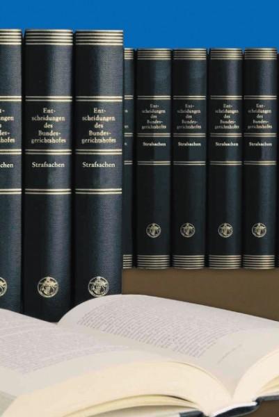 Entscheidungen des Bundesgerichtshofes in Strafsachen - BGHSt
