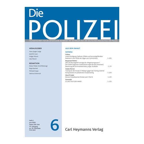 Die Polizei - Heft 6|2020