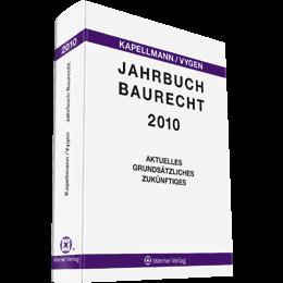 Jahrbuch Baurecht 2010