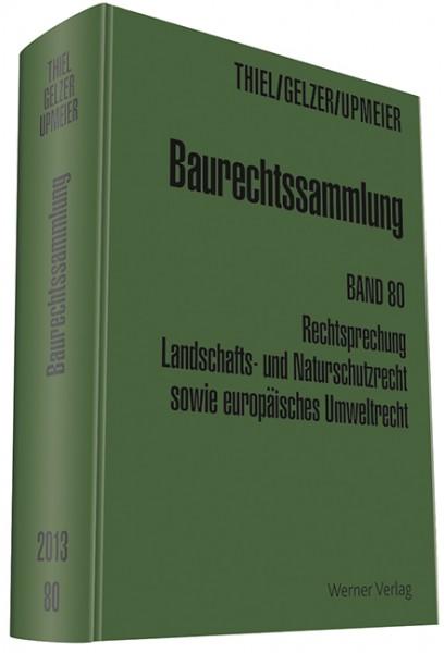 Baurechtssammlung Band 80