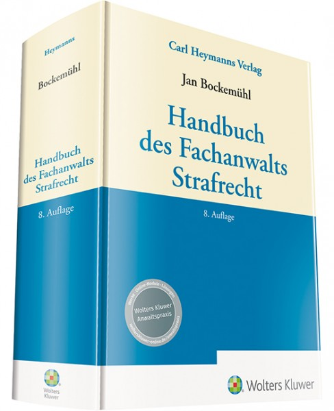Handbuch des Fachanwalts Strafrecht