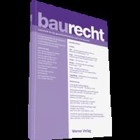 Baurecht - Zeitschrift