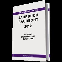 Jahrbuch Baurecht 2012