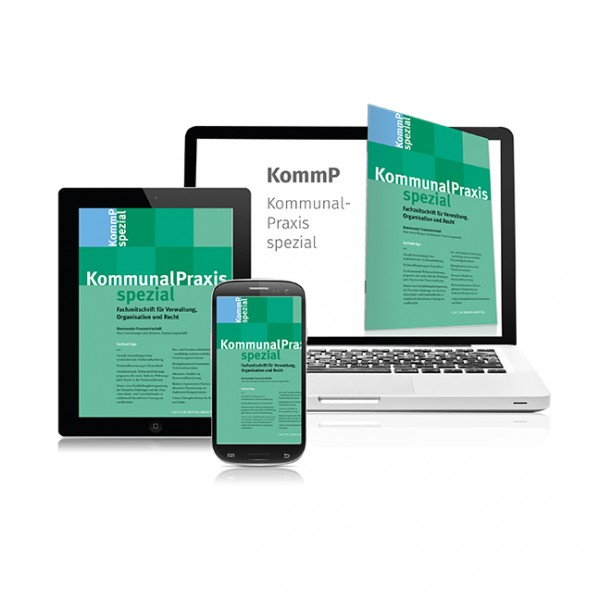 KommunalPraxis spezial (Probeabonnement - 1 Heft)