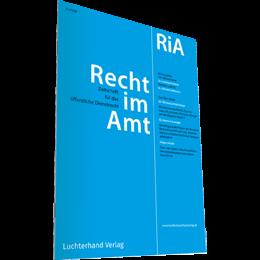 RiA - Recht im Amt