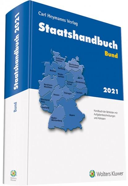 Staatshandbuch Bund 2021
