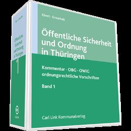 Öffentliche Sicherheit und Ordnung in Thüringen - Kommentar