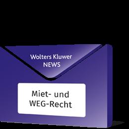 News Miet- und WEG-Recht