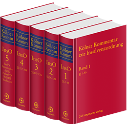 Kölner Kommentar zur Insolvenzordnung Bände 1-5