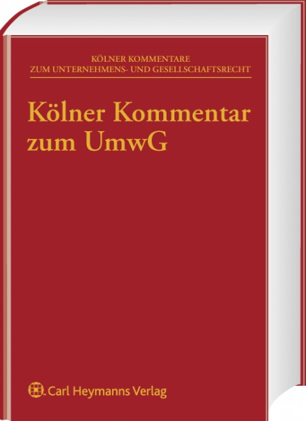 Kölner Kommentar zum Umwandlungsgesetz