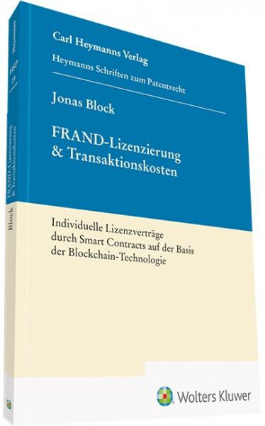 FRAND-Lizenzierung & Transaktionskosten
