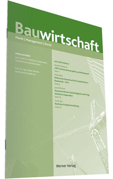 BauW - Zeitschrift Bauwirtschaft - Heft 4|2019