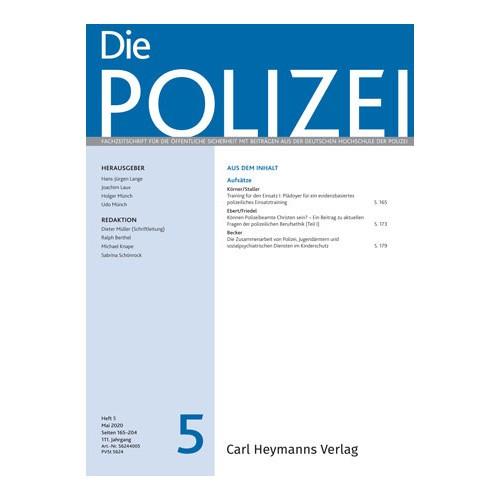 Die Polizei - Heft 5|2020