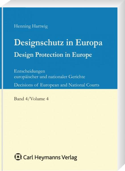 Designschutz in Europa, Band 4