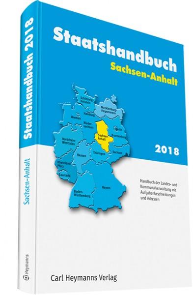 Staatshandbuch Sachsen-Anhalt 2018