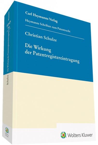 Die Wirkung der Patentregistereintragung