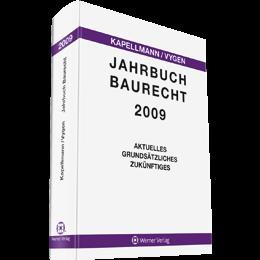 Jahrbuch Baurecht 2009