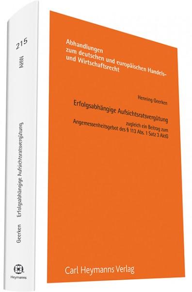 Erfolgsabhängige Aufsichtsratsvergütung (AHW 213)