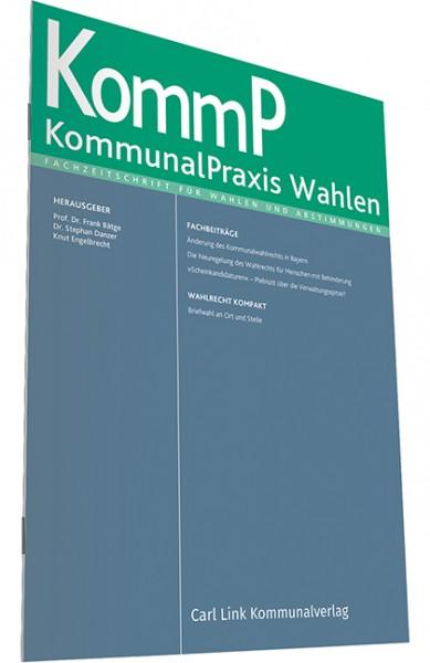 KommunalPraxis Wahlen - Heft 1|2020