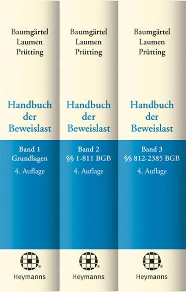 Handbuch der Beweislast (Bundle Bände 1-3)
