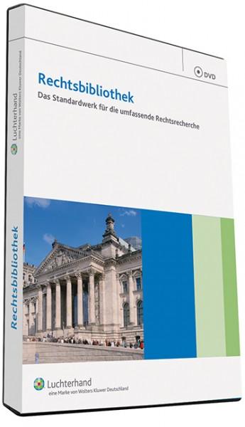 Rechtsbibliothek ohne Landesrechte DVD