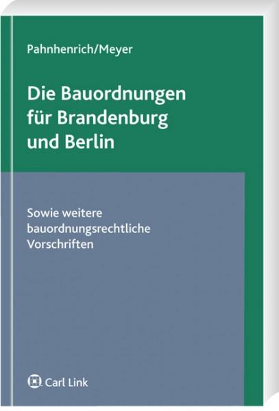 Die Bauordnungen für Brandenburg und Berlin