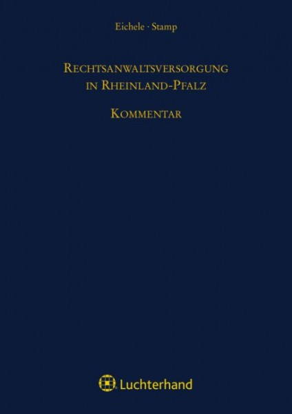 Rechtsanwaltsversorgung in Rheinland-Pfalz