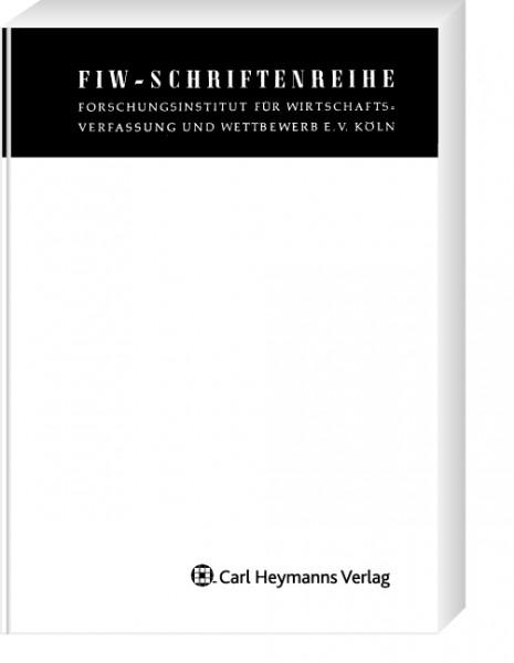 Sanktionen im Kartellrecht - Referate des 44. FIW-Symposiums (FIW 237)