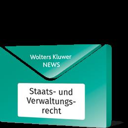 News Staats- und Verwaltungsrecht