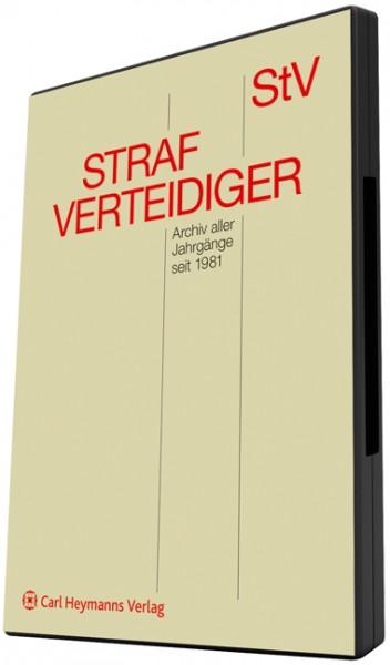 Strafverteidiger (StV) Elektronisches Archiv