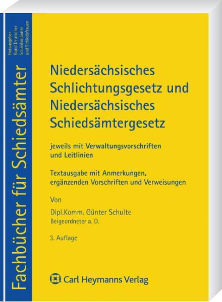 Niedersachsisches Schlichtungsgesetz Und Niedersachsisches