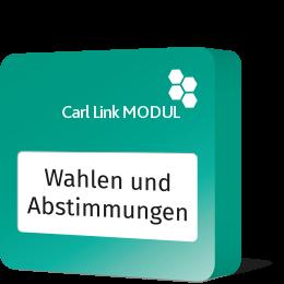 Carl Link Wahlen und Abstimmungen