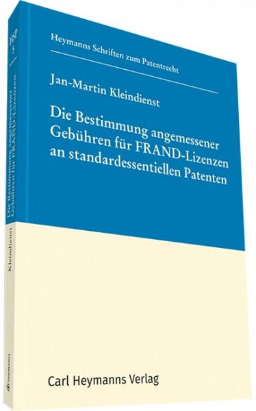 Die Bestimmung angemessener Gebühren für FRAND-Lizenzen an standardessentiellen Patenten (HSP 5)