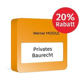 Werner Privates Baurecht